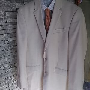 Cream Kenneth Cole New York Blazer